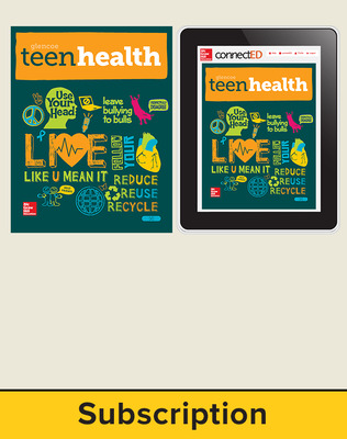 PTO MIX Teen Health, Print SE (without HRS) and eStudent 1 year subscription (without HRS)