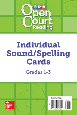 Open Court Reading Grades 1-3 Individual Sound/Spelling Cards