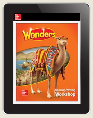 Wonders Student Online Workspace 6-Year Online Subscription, Grade 3