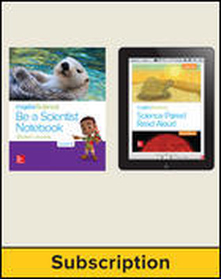 Inspire Science 2.0 Grade K, Basic Student Bundle with Print Be a Scientist Notebook and Online Student Learning Center, 3 Year Subscription