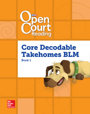 Open Court Reading, Core PreDecodable and Decodable Takehome Books Blackline Master Book 1, Grade 1