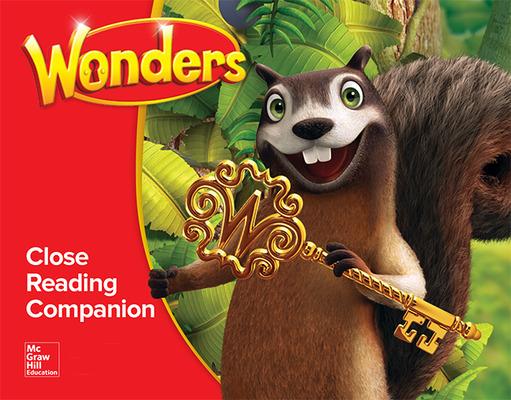 Wonders Close Reading Companion Annotated TE, Grade 1