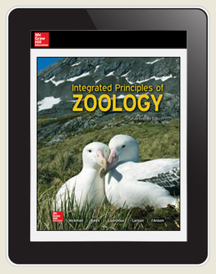 Hickman, Integrated Principles of Zoology, 2017, 17e (Reinforced Binding) ConnectED eBook, 6-year subscription
