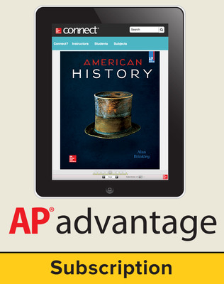 Brinkley, American History: Connecting with the Past 2015, 15e, AP Advantage Digital Bundle  (ONboard (v2), Connect, SCOREboard (v2)), 6-year subscription