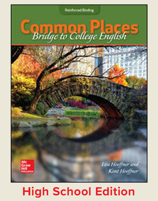 Common Places:Bridge to College English (Hoeffner) cover