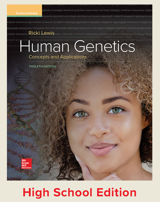 Hole's Human Genetics: Concepts and Applications (Lewis) cover