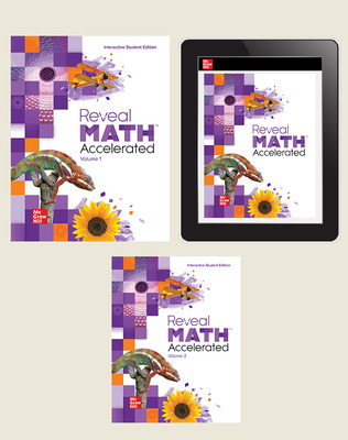 Reveal Math Accelerated, Student Bundle, 3-year subscription