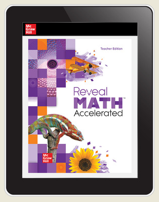 Reveal Math Accelerated, Teacher Digital License, 6-year subscription