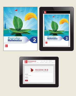 Everyday Math 4 Comprehensive Student Materials Set with Redbird, 3-Years, Grade 2