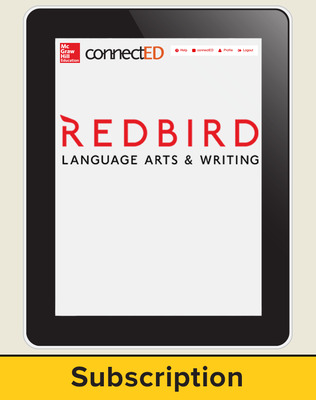 Redbird Language Arts and Writing Cover