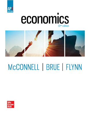 McConnell, Economics, AP Ed, 2021, 22e, Online Student Edition, 1-year subscription
