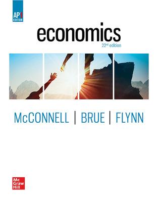 Economics (McConnell) cover