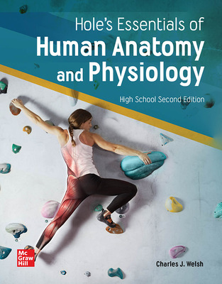 Hole's Essentials of Human Anatomy and Physiology (Welsh) cover