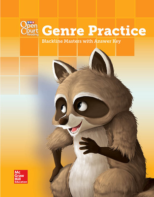 Open Court Reading Grade 1 Genre BLM with Answer Key