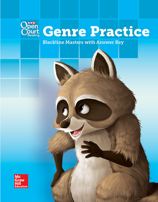 Open Court Reading Grade 3 Genre BLM with Answer Key