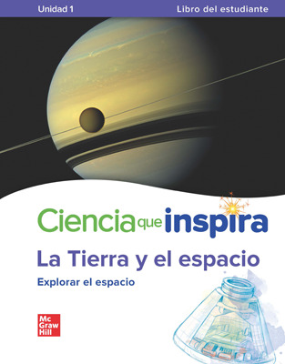 California Inspire Science: Earth & Space Comprehensive Spanish Student Bundle with SyncBlasts, 8-year subscription