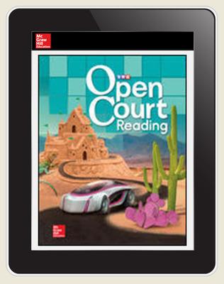 Open Court Reading Word Analysis Kit Grade 5 Teacher License, 6-year subscription