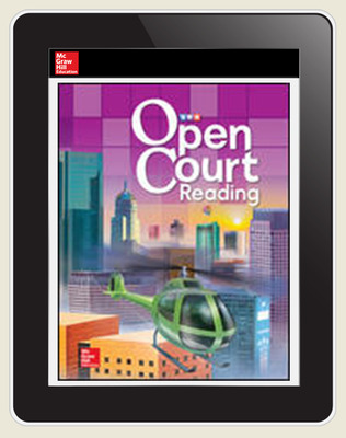 Open Court Reading Word Analysis Kit Grade 4 Single Class License (25 students, 1 teacher), 6-year subscription