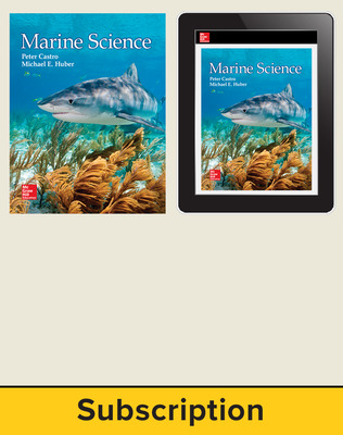 Castro, Marine Science, 2016, 1e, Student Bundle, 1-year subscription