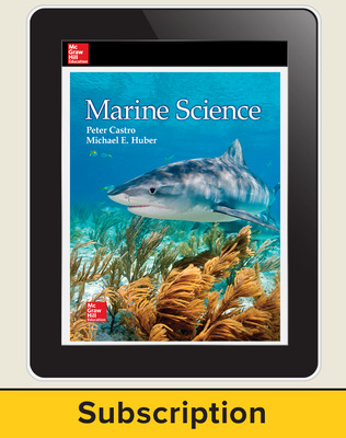 Castro, Marine Science, 2016, 1e Online Student Edition, 6-year subscription