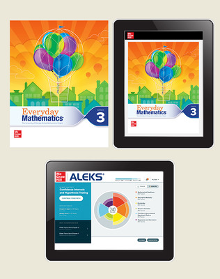 Everyday Math 4 Essential Student Materials Set with ALEKS, 8-Years, Grade 3