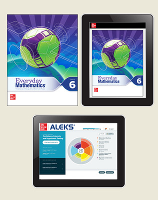 Everyday Math 4 Essential Student Materials Set with ALEKS, 8-Years, Grade 6