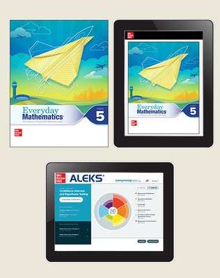 Everyday Math 4 Essential Student Materials Set with ALEKS, 3-Years, Grade 5