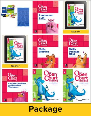 Open Court Reading Grade K Foundational Skills Kit Classroom Bundle, 1 Year Subscription