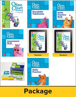 Open Court Reading Grade 3 Foundational Skills Kit Classroom Bundle, 1 Year Subscription