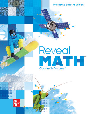 Reveal Math Course 1, Student Bundle with ALEKS.com (Print + Digital + ALEKS), 8-year subscription