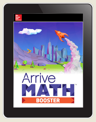 Arrive Math Booster Grade K-8, Student, 1-year subscription