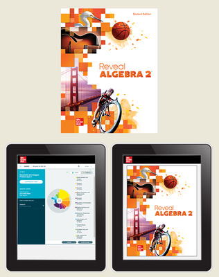 Reveal Algebra 2, Student Hardcover Bundle with ALEKS.com, 1-year subscription