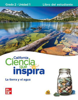 California INSPIRE SCIENCE:  Grade 2 Online Student Center with Spanish Print Student Edition Units 1-4, 1 Year Subscription