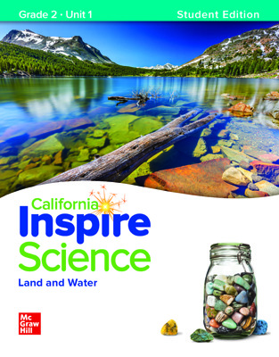 California INSPIRE SCIENCE:  Grade 2 Online Student Center with Print Student Edition Units 1-4, 1 Year Subscription