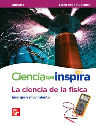 California Inspire Science: Physical G8 Comprehensive SPANISH Student Bundle 1-year subscription