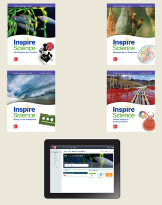 Inspire Science: Integrated G6 Comprehensive Student Bundle 6-year subscription