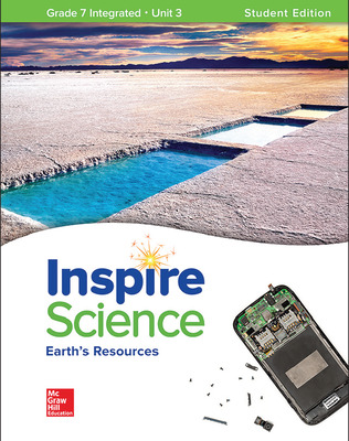 Inspire Science: Integrated G7 Write-In Student Edition Unit 3