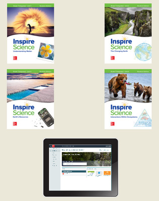 Inspire Science: Integrated G7 Complete Student Bundle 1-year subscription