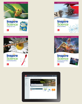 Inspire Science: Integrated G8 Comprehensive Student Bundle 6-year subscription