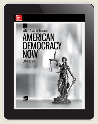 Harrison, American Democracy Now, 2019, 6e, (AP Ed), Digital Teacher Subscription, 1-year