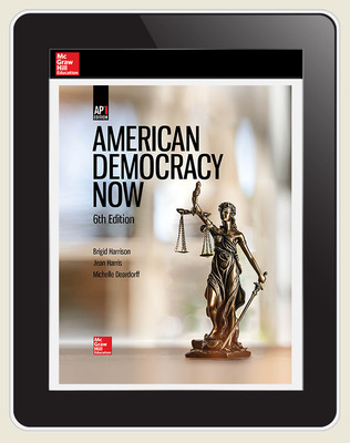 Harrison, American Democracy Now, 2019, 6e, (AP Ed), AP advantage Digital Student Subscription (ONboard, Online Student Edition, SCOREboard), 6-year