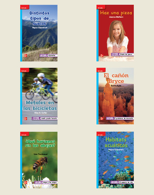INSPIRE SCIENCE: Grade 2, Spanish Leveled Reader Library (6 copies)