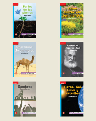 INSPIRE SCIENCE: Grade 1, Spanish Leveled Reader Library (6 copies)