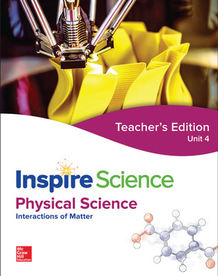 Inspire Science: Physical G8 Teacher Edition Unit 4