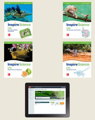 Inspire Science: Life Comprehesive Student Bundle 6-year subscription