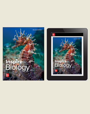 Inspire Science: Biology, G9-12 Comprehensive Student Bundle, 2-year subscription