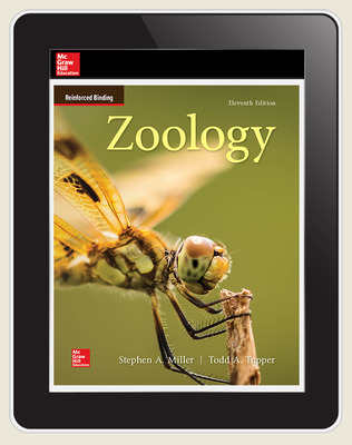 Miller, Zoology, 2019, 11e, Online Student Edition, 1-year subscription