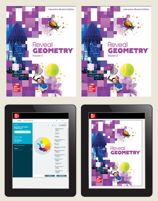 Reveal Geometry, Student Bundle with ALEKS.com, 6-year subscription