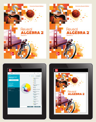 Reveal Algebra 2, Student Bundle with ALEKS.com, 1-year subscription