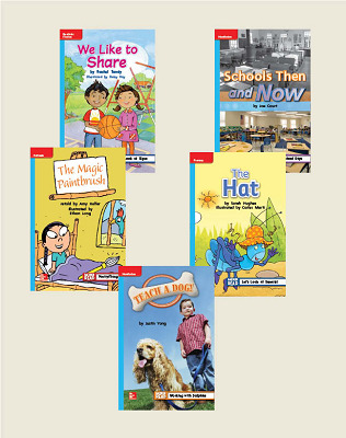 Wonders Grade 1 Leveled Reader Package 6 of 30 On-Level